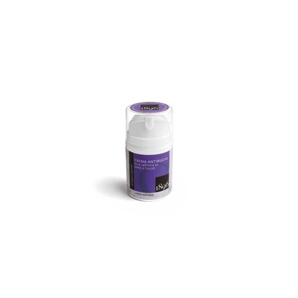 Crema antirughe alla lattuga di mare e tiglio - Box Antiage - 1896 cosmetics - cosmetici naturali artigianali