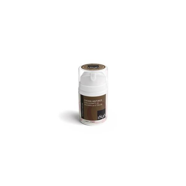 Box antiage uomo - CREMA ANTIAGE CON ESTRATTI DI CALENDULA E TIGLIO - 1896 Cosmetics - cosmetici naturali artigianali