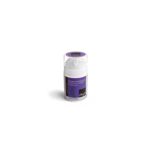 Crema Antirughe Effetto Lifting all'Opunzia - Box Anti-age - 1896 Cosmetics - cosmetici naturali artigianali